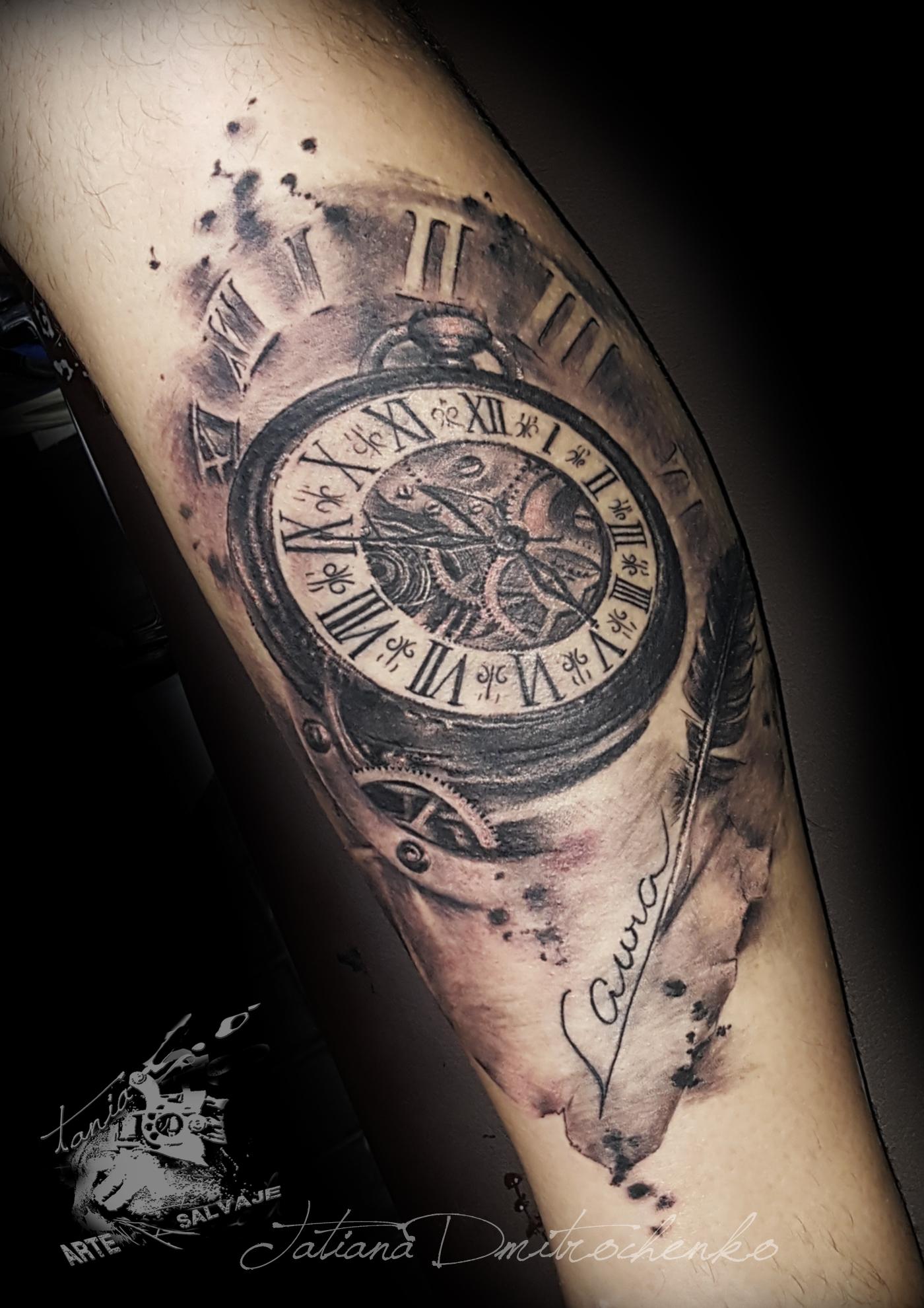 Tatuaje Reloj Trendy Tatuaje Reloj Arena With Tatuaje Reloj Foto